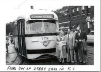 Final day of street cars in K.C.
