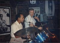 Marcellus Lee and Bobby Branstetter performing at the Levee Bar & Grill