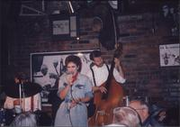 Jazz musicians performing at the Levee Bar & Grill