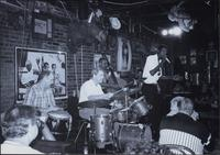 Jazz musicians at the Levee Bar & Grill