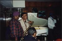Jazz musicians at the Mutual Musicians Foundation