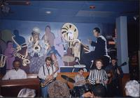 Jazz musicians at the Blue Note Café