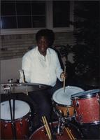 Al Bartee at an outdoor party