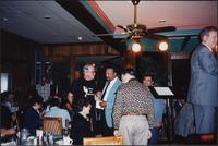 Jazz musicians at the Sunset Grill