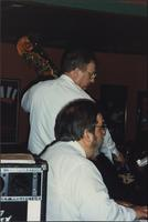 Bob Branstetter and Russ Long at the Sunset Grill