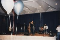 Jazz musicians at an unidentified event