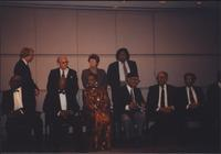 Jazz musicians at an Elder Statesmen Awards ceremony