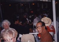Passengers on the Missouri River Queen Jazz Cruise