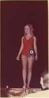 Lisa Cole during the swimsuit portion of the Miss Raytown 1973 pageant