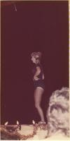 Pamela Ann Shiel during the talent portion of the Miss Raytown 1973 pageant