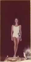 Constance Pickett during the swimsuit portion of the during the Miss Raytown 1973 pageant