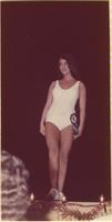 Diane Swift during the swimsuit portion of the Miss Raytown 1973 pageant