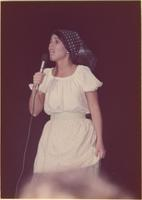 Diane Swift during the talent portion of the Miss Raytown 1973 pageant