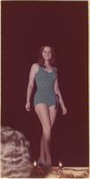 Mischell Dutton during the swimsuit portion of the Miss Raytown 1973 pageant