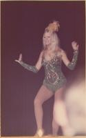 Candis Blythe Culberson during the talent portion of the Miss Raytown 1973 pageant
