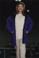 Car-length coat at the Boat Show Fashion Show