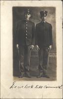 Postcard - James Harris and Charles McLean