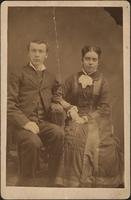 Horace and Lutie McLean's wedding picture
