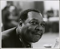 Close up photo of Jay McShann