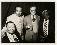 Jay McShann with Gus Johnson, John Tumino, and Gene Ramey
