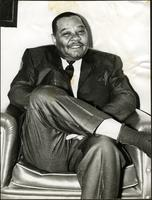 Jay McShann seated