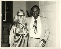 Jay McShann with unidentified woman