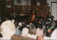 Jay McShann, Milt Abel, and Tommy Ruskin performing in Topeka