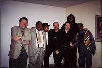 Group photo of Jay McShann, James Harmon and others