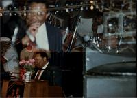 Jay McShann, Jimmy Cheatham and Ironman Harris performing