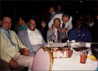 Jay McShann with Ralph Sutton, Gus Johnson, Milt Hinton, and others at the Gibson Jazz Party