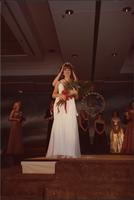 Renee Ruch, Miss Kansas USA 1983, gets her crown