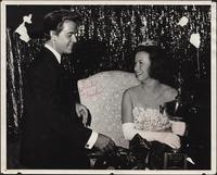Dick Clark congratulating Patricia Stevens on her Miss Teenage Kansas City 1968 win