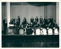 Warren Durrett and his orchestra at Crown Center Hotel