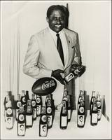 Grambling State University Coach Eddie Robinson in a Coca Cola Promotional