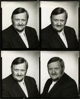 Four publicity pictures of Walt Bodine on 1 contact sheet
