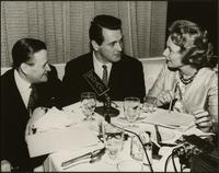 Walt Bodine and Jean Glenn interview Rock Hudson