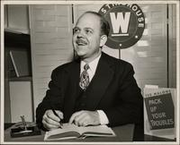 Ted Malone in a publicity photograph to promote his book