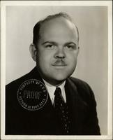 Ted Malone in an NBC publicity photograph for National Forensic League