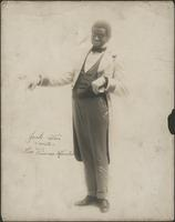 Jack Weir in costume