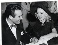 Gene Krupa and Lana Turner