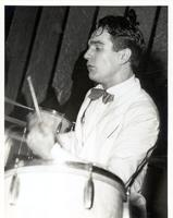 Gene Krupa playing drums