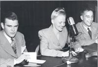 Dave Dexter, Peggy Lee, and Garry Moore