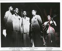 Lunceford Quartette: Wilson, Young, Tompkins, Smith, Guitarist Al Norris