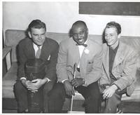 Dave Dexter, Jimmie Lunceford, and Bob Rae