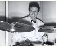 Ray McKinley playing drums