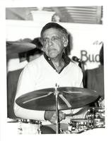 Buddy Rich playing drums