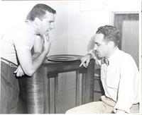 Buddy Rich and Jimmy Hilliard