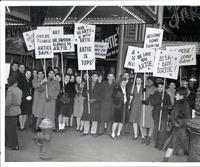 New York demonstration on behalf of Artie Shaw