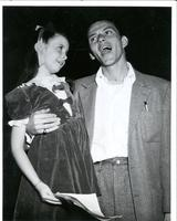 Margaret O'Brien and Frank Sinatra