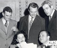 Dave Dexter, Red Skelton, and Al Jarvis